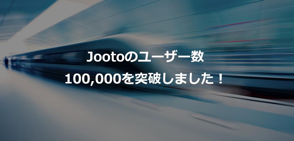 100000人突破