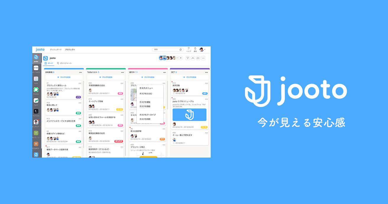 Webご利用ガイド - タスク・プロジェクト管理ツールJooto (ジョートー)